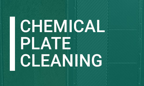 Chemical Plate Cleaning